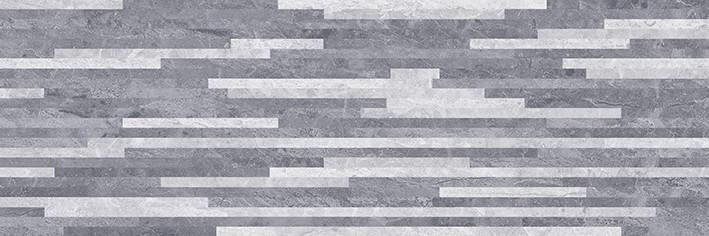 Купить Керамическая плитка Ceramica Classic Pegas настенная серый мозаика 17-10-06-1178 20х60, Россия