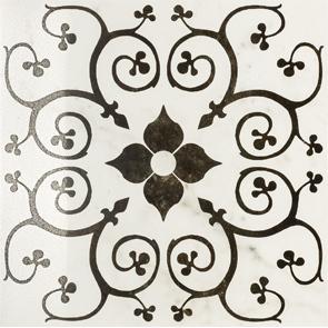 Купить Керамогранит Италон Charme Pearl Ins. Bouquet (610080000119) декор 60x60, Россия