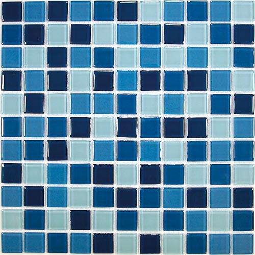 Купить Керамическая плитка China Mosaic Sea wave-1 (4x25x25) Мозаика 30x30, Китай