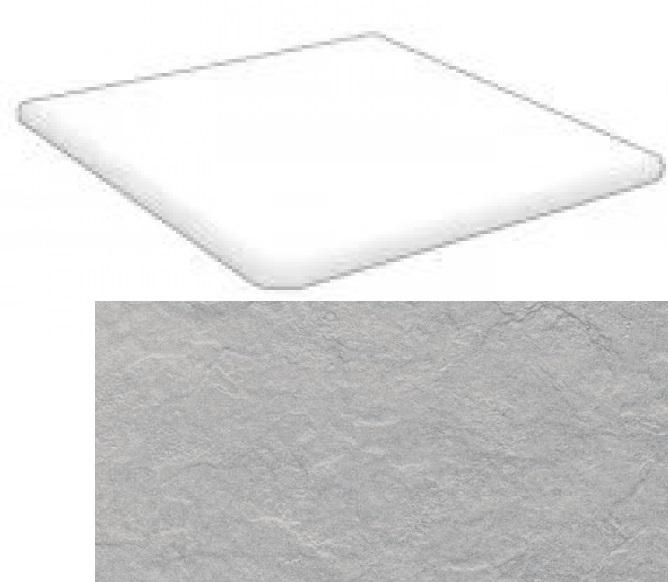 Купить Ступень Seranit Riverstone Grey угловая 33x120, Турция