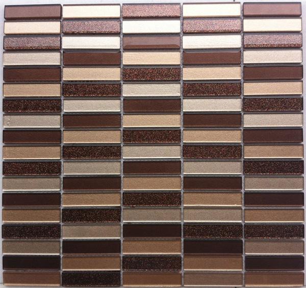 Купить Стеклянная Мозаика China Mosaic Freedom (4x15x63) 30x32, Китай