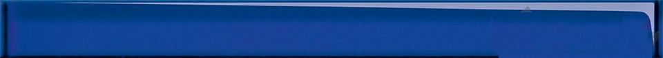 Купить Керамическая плитка (UG1H031) спецэлемент стеклянный: Universal Glass, синий, 4x45, Сорт1, Cersanit, Россия
