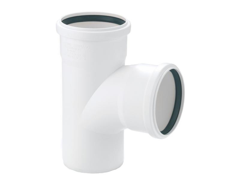 Купить Rehau Тройник для систем внутренней канализации 110/110х87°, Германия