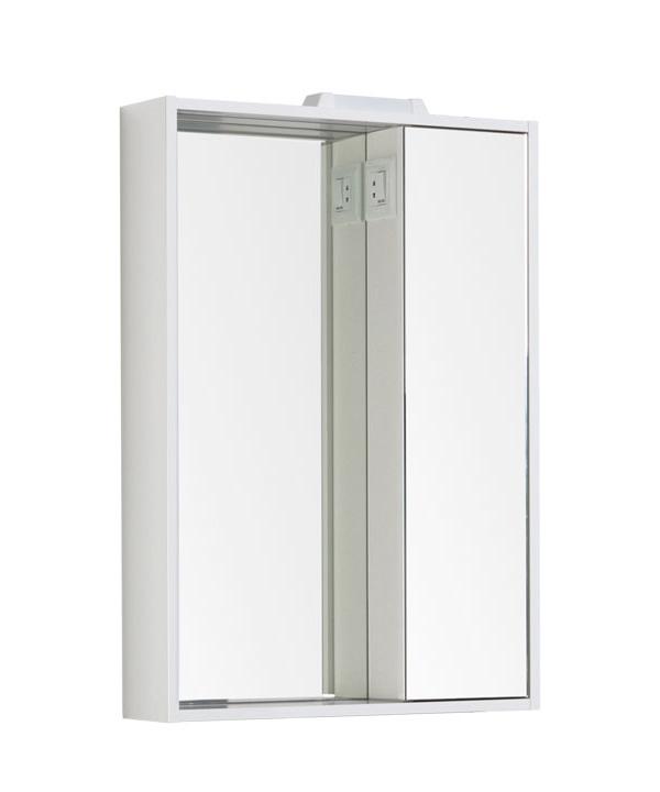 Купить Зеркальный шкаф Aquanet Клио 60 белый 00189228, Россия