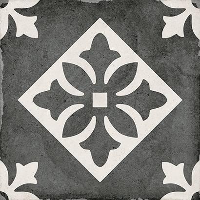 Купить Керамогранит Equipe Art Nouveau 24416 Padua Black 20x20, Испания