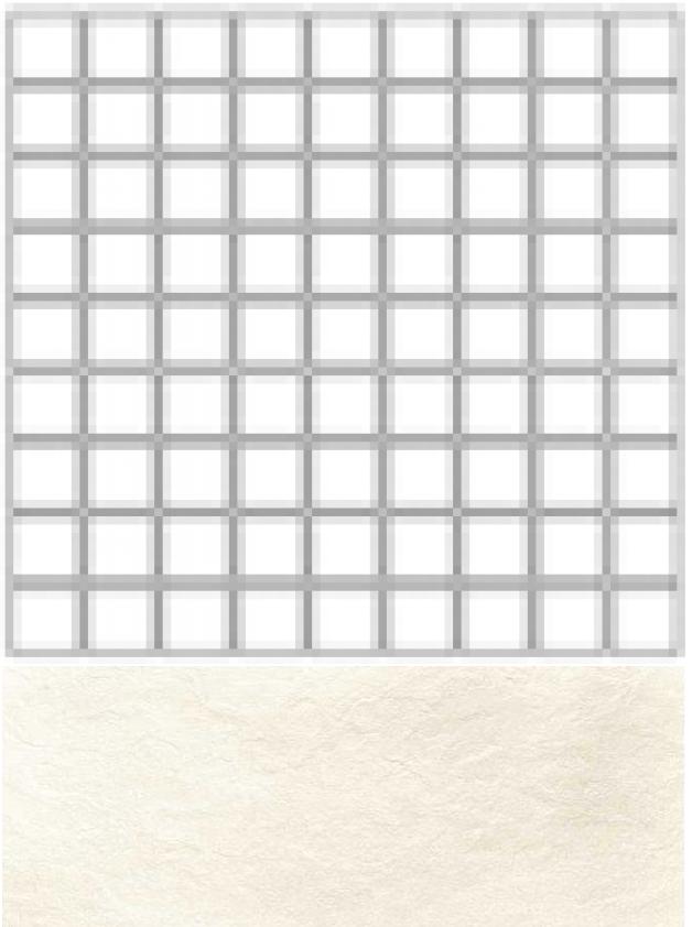 Купить Керамогранит Seranit Riverstone Mosaic White (5x5) мозаика 30x30, Турция