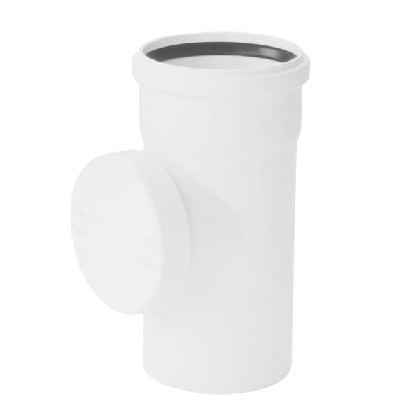 Купить Rehau Ревизия с резиновым уплотнительным кольцом для систем внутренней канализации 110, Германия