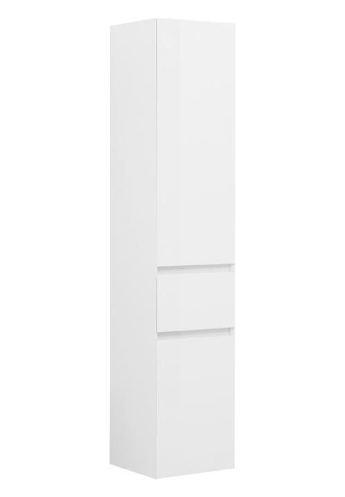 Купить Пенал Aquanet Йорк 35 подвесной белый 00202095, Россия