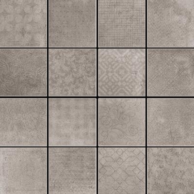Купить Керамогранит Serenissima Riabita Il Cotto Ins Fabric Natural декор 40x40, Италия