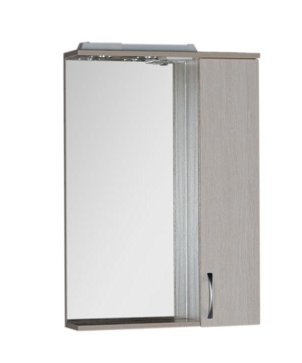 Купить Зеркальный шкаф Aquanet Донна 60 белый дуб 00169038, Россия