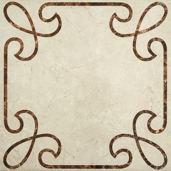 Купить Керамогранит STN Ceramica Cantera Decor Marfil напольный 45х45, Испания