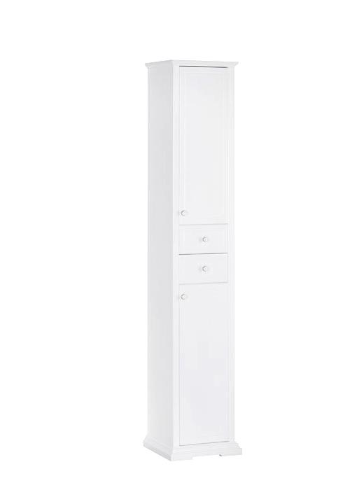 Купить Пенал Aquanet Лагуна 40 напольный белый 00175307, Россия