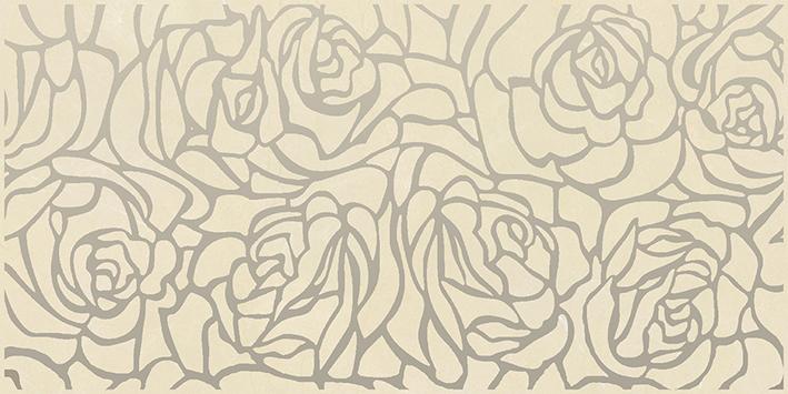 Купить Керамическая плитка Ceramica Classic Serenity Rosas Декор кремовый 08-03-37-1349 20х40, Россия
