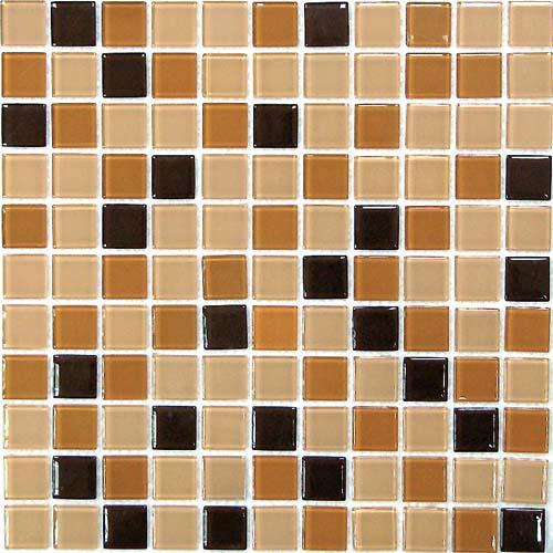 Купить Керамическая плитка China Mosaic Coffee Mix (4x25x25) Мозаика 30x30, Китай