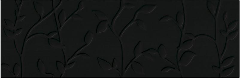 Купить Керамическая плитка Mei Winter Vine рельеф черный ( O-WIN-WTA232) настенная 29x89, Россия