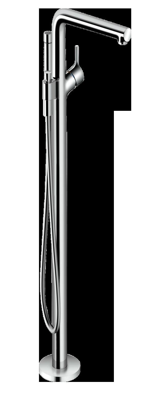 Купить Смеситель для ванны Hansgrohe Talis S однорычажный, напольный 72412000, Германия