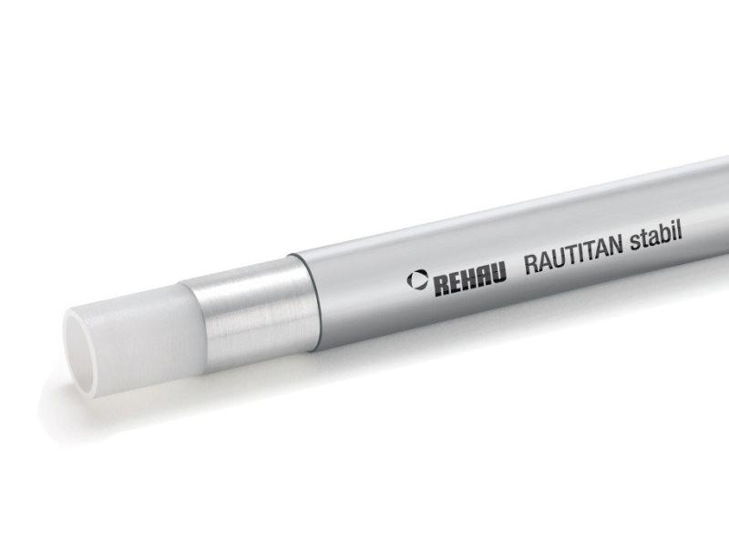 Купить Труба Rehau Rautitan stabil 40х6, 0 отрезок 1м, Германия