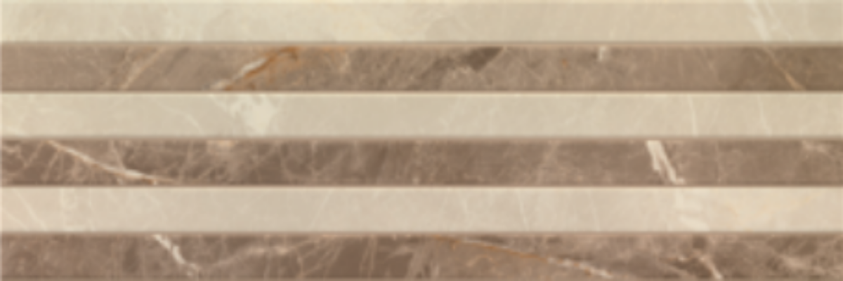 Купить Керамическая плитка Porcelanite Dos 9520 Relieve Beige Rect. настенная 30х90, Испания