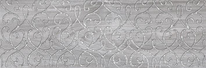 Купить Керамическая плитка Ceramica Classic Envy Blast Декор серый 17-03-06-1191-0 20х60, Россия