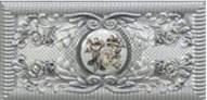 Купить Керамическая плитка Infinity Ceramic Tiles Cardinale II Inserto Gris Декор 7x14.5, Испания