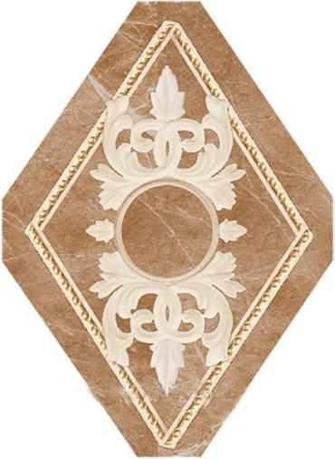 Купить Керамическая плитка Navarti Agora Inserto Oka Noce вставка 10, 5x14, 5, Испания