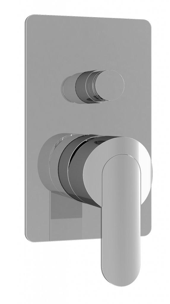 Купить Встраиваемый двухпозиционный смеситель для душа Cezares Garda хром GARDA-VDIM-01-Cr, Италия