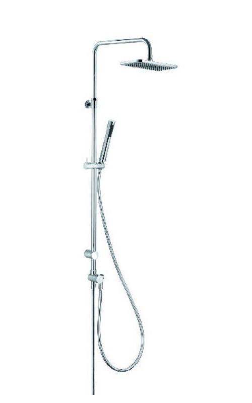 Душевая колонна с ручным и верхним душем Kludi A-QA хром 4919105-00