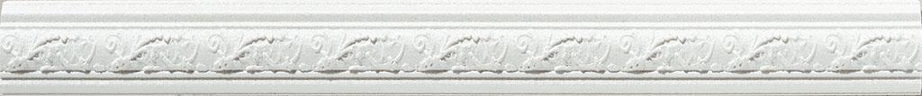Купить Керамическая плитка Azulev Onice Moldura Aradia Blanco бордюр 3x29, Испания