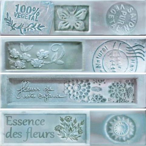 Купить Керамическая плитка Dual Gres Dolce Essence Decor Ocean декор 7, 3x30 (mix 4 вида), Испания