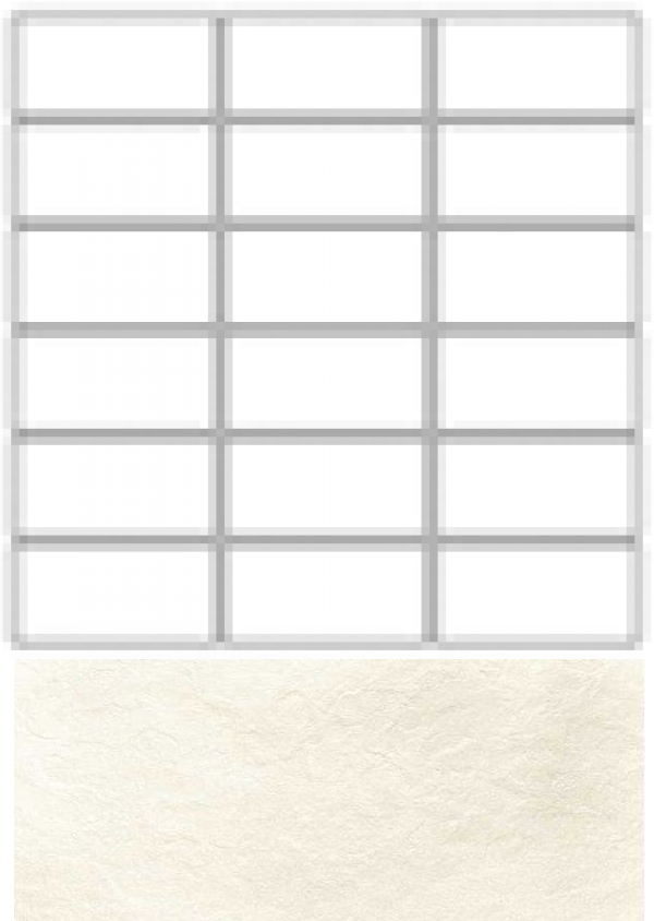 Купить Керамогранит Seranit Riverstone Mosaic Line White (15x3, 5) мозаика 30x30, Турция