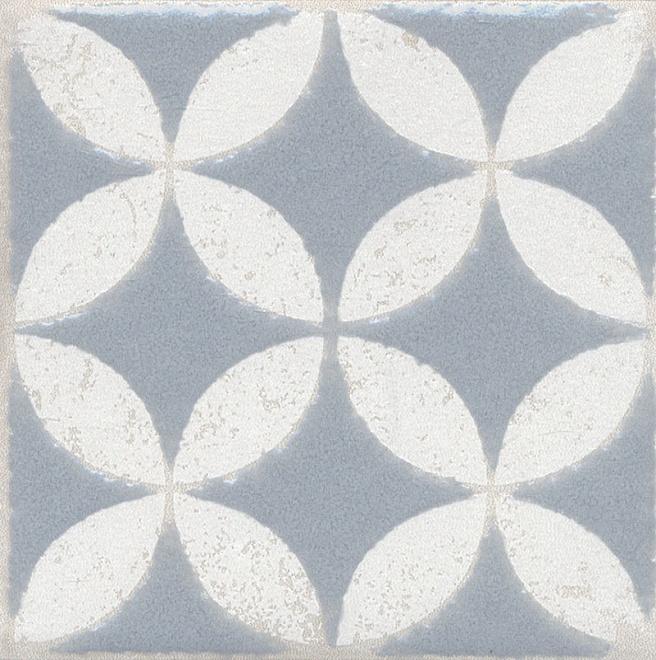 Купить Керамический гранит Kerama Marazzi Амальфи Орнамент Серый STG/C401/1270 Декор 9, 9x9, 9, Россия