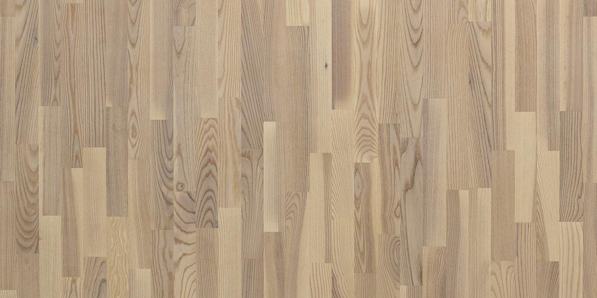 Купить Паркетная доска Floorwood ASH Madison White Matt LAC 3S (Ясень Кантри), Россия