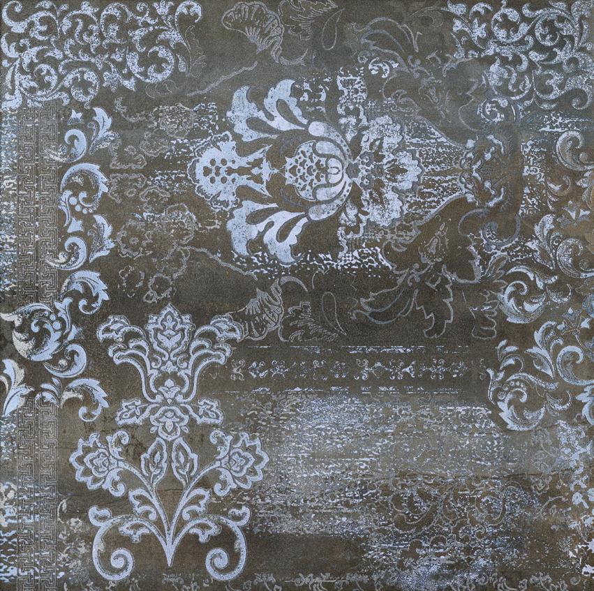 Купить Керамогранит Ascot Ins. Silk Steelwalk Metal Декор 59, 5x59, 5, Италия