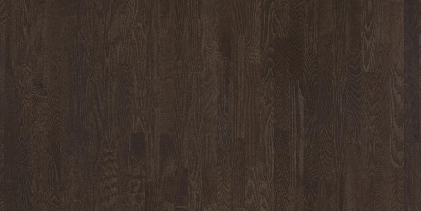Купить Паркетная доска Floorwood ASH Madison dark brown Matt LAC 3S (Ясень Кантри), Россия