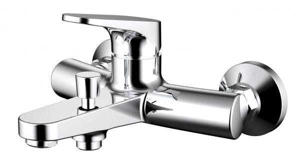 Купить Смеситель для ванны и душа Bravat Eler F6191238CP-01-RUS, Германия