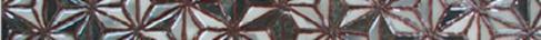 Купить Керамическая плитка Valentia Menorca LB Alaior Argent бордюр 4, 5x60, Испания