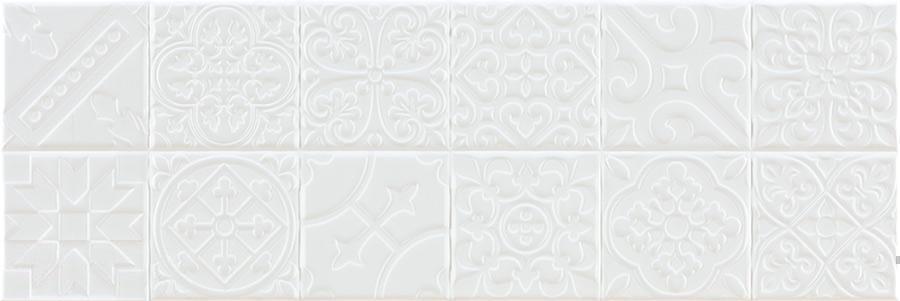 Купить Керамическая плитка Pamesa Donegal RLV Snow декор 20x60, Испания