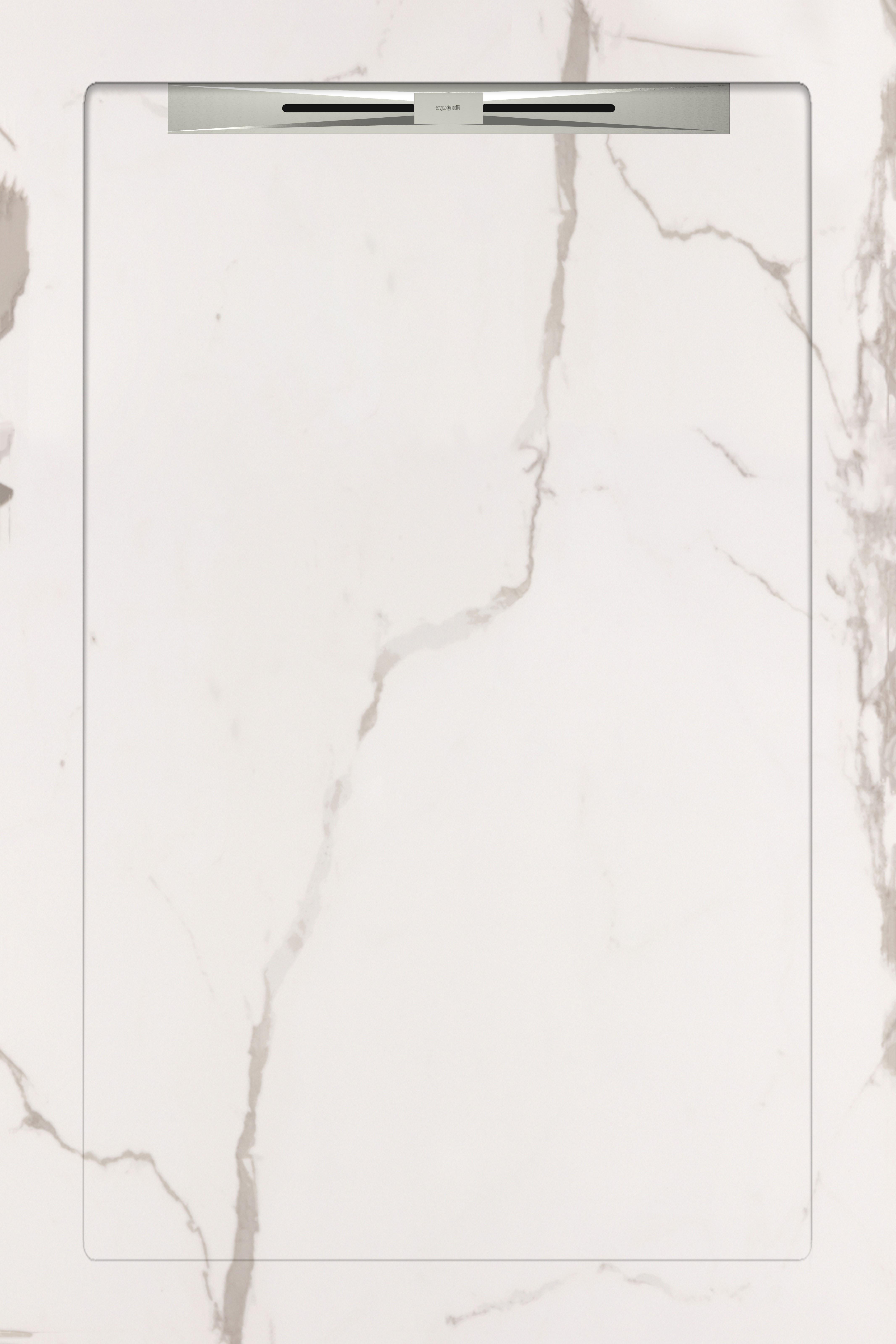 Душевые поддоны Aquanit Infinity White Slope Line 80x120