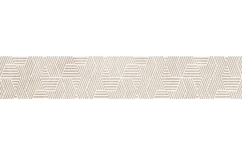 Купить Керамическая плитка Дюна Бордюр настенный бежевый 1504-0159 7х40, Lb-Ceramics, Россия