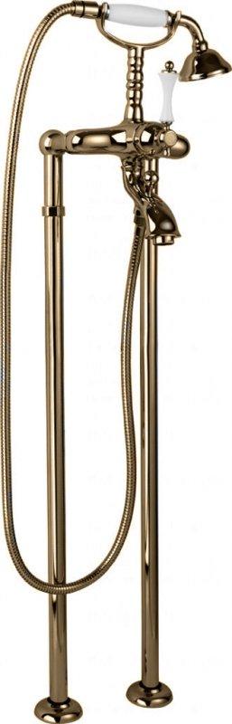 Купить Смеситель для ванны и душа Cezares Margot бронза, ручка металл MARGOT-VDP-02-M, Италия