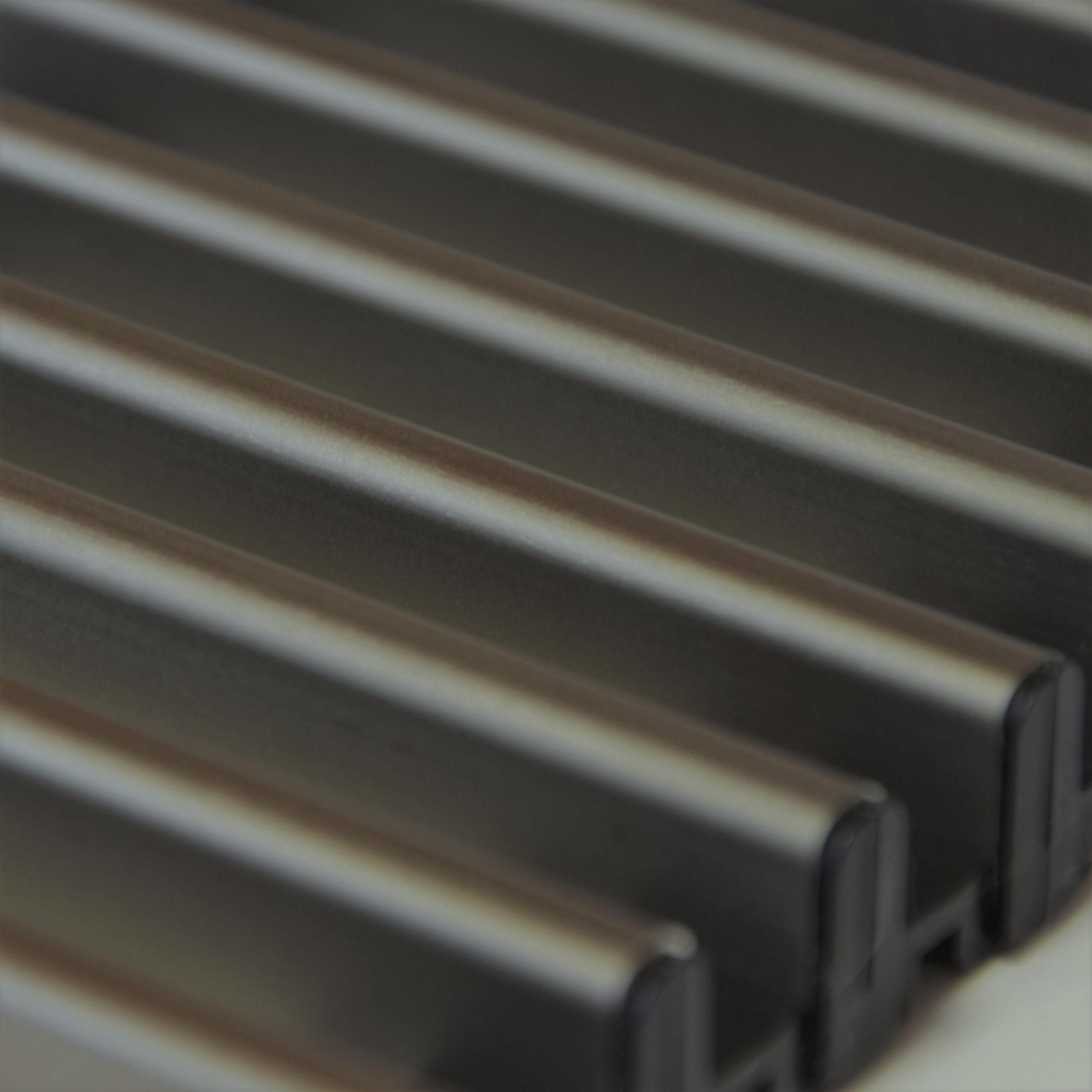 Купить Декоративная решетка Mohlenhoff светлая бронза, шириной 260 мм 1 пог. м Россия