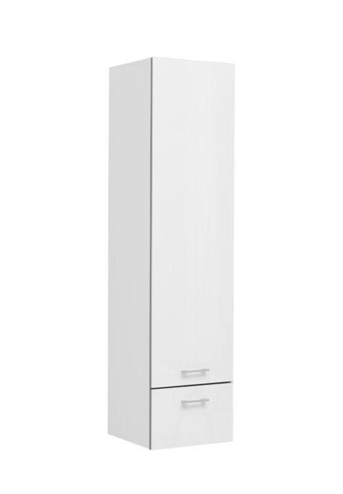 Купить Пенал Aquanet Верона 40 подвесной левый белый 00188334, Россия