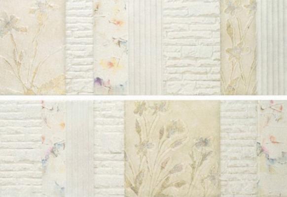 Купить Керамическая плитка Porcelanite Dos 2216 Crema Nature II (компл. из 2 шт) декор 22, 5х67, 5, Испания