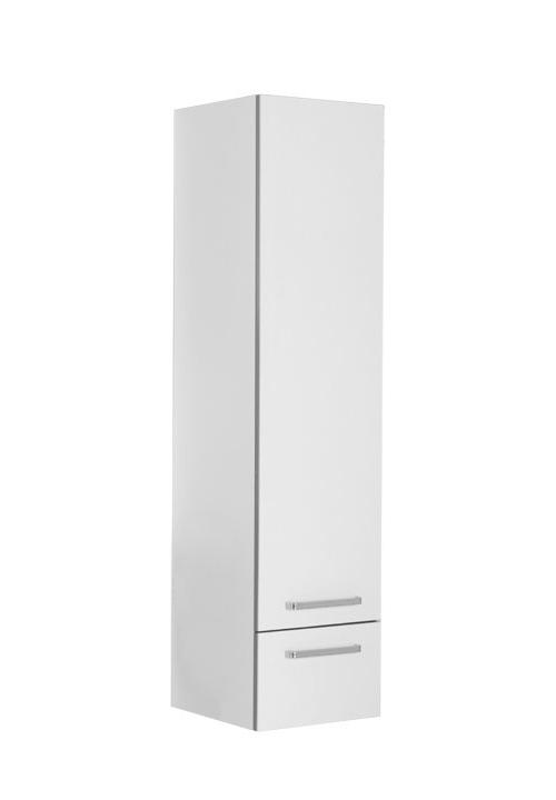 Купить Пенал Aquanet Сиена 40 подвесной левый белый 00189238, Россия