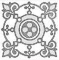 Купить Керамическая плитка Grasaro Marble classik Snow White Вставка GT-270/t03, 7x7 глазурованный, Россия