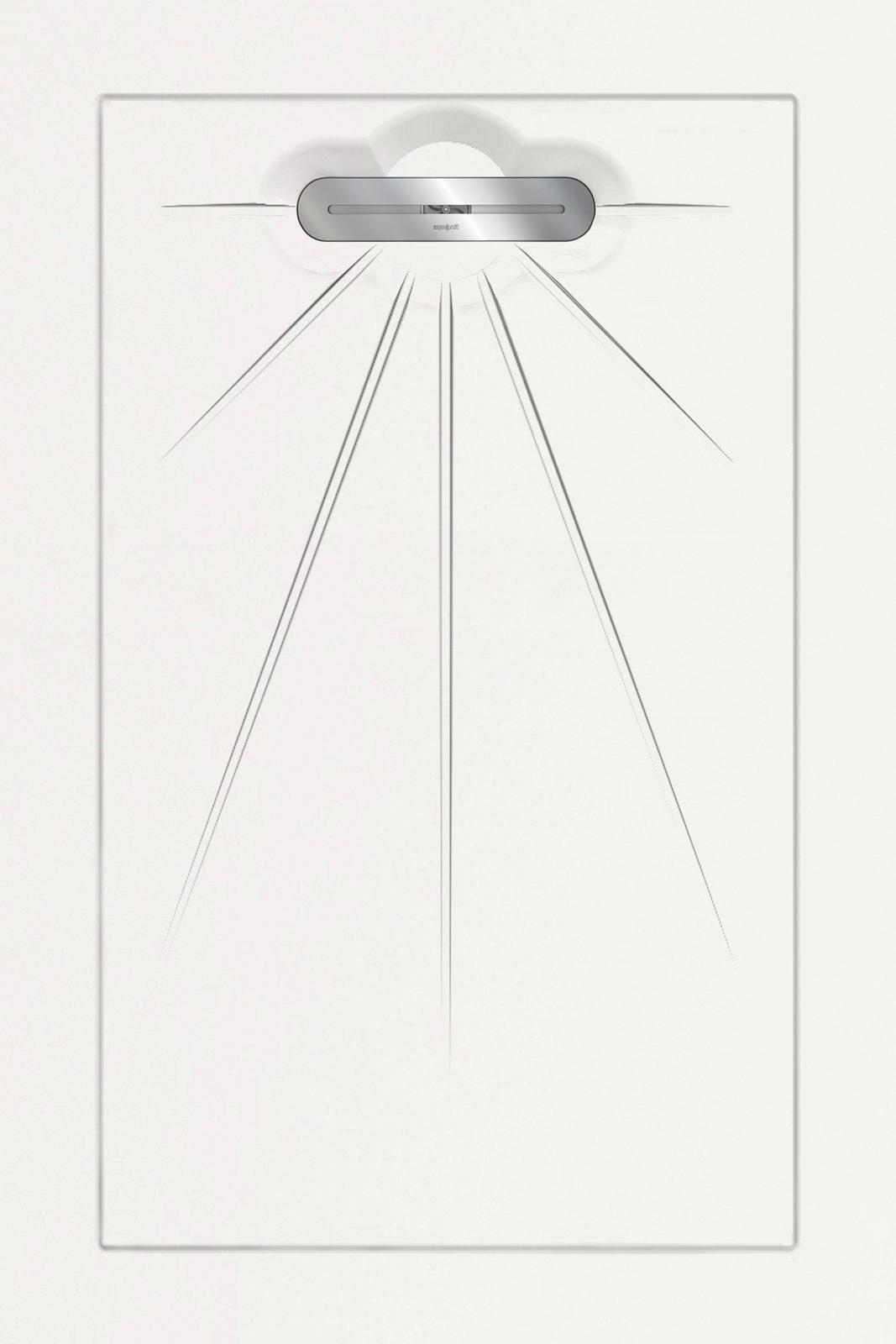 Душевые поддоны Aquanit Aquawhite Multi Linear Massive 90x135