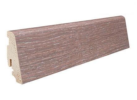 Купить Плинтус Haro Шпонированный Дуб Песочно-коричневый Выбеленный Саваж 407729, Германия