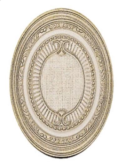 Керамическая плитка El Molino Hermes Oro-Bone Medallon декор 14x10