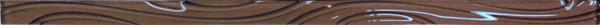 Купить Керамическая плитка Kerlife Mosaic Lux List. Lines Cacao Cristal бордюр 2, 5x60, Испания