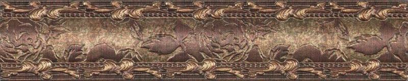 Купить Керамическая плитка Rocersa Habitat Mold. Cobre бордюр 3, 5х20, Испания
